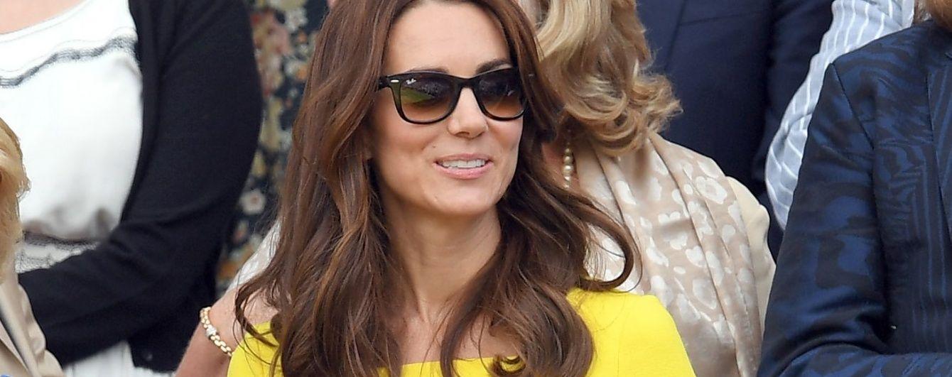 Затмила всех: герцогиня Кембриджская приехала на Уимблдонский турнир