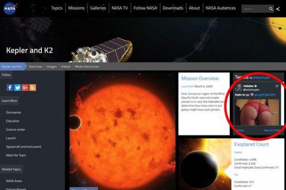 Порнобот, NASA