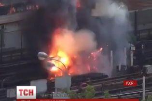 У Москві закрили шість станцій метро через пожежу