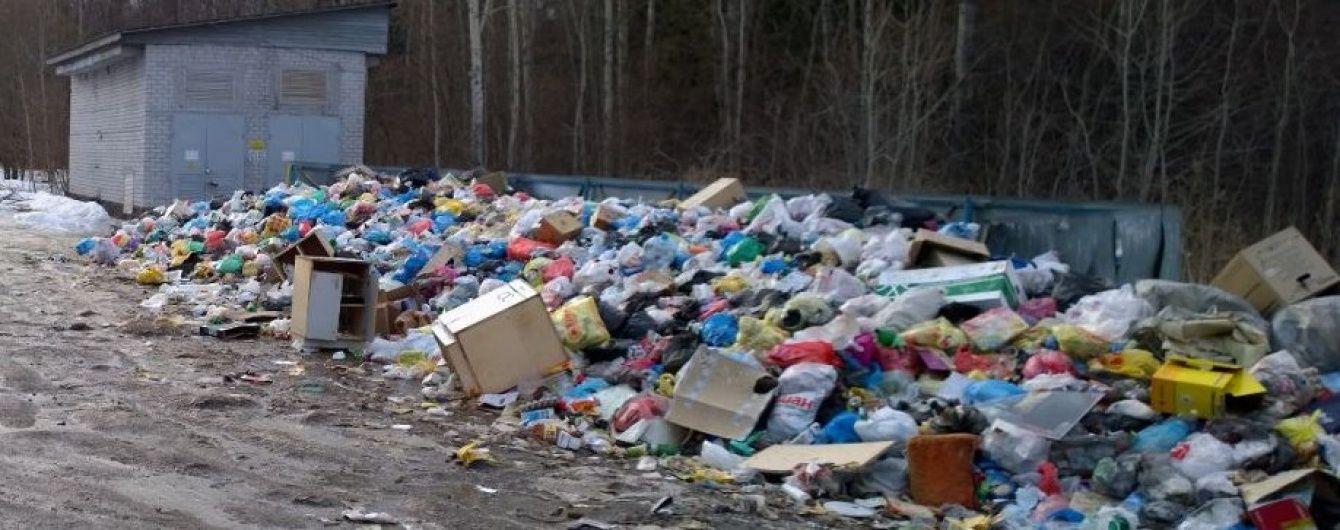 У Челябінській області волоцюги бенкетували на смітнику
