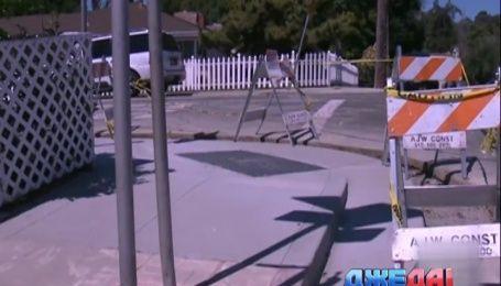 Жители американского городка чуть не избили дорожников за ремонт исторической трещины