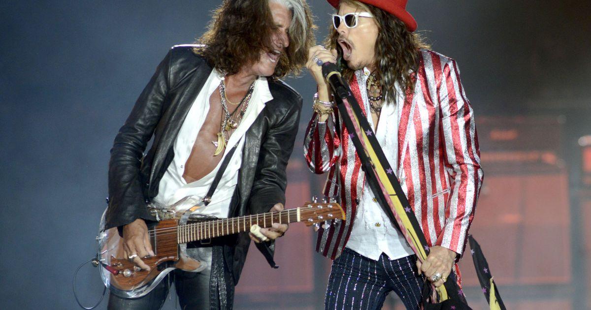 Учасник Aerosmith після екстреної госпіталізації повернувся на сцену