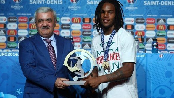 Ренату Саншеш найкращий молодий гравець Євро