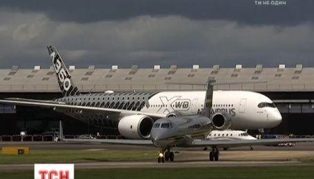 У передмісті Лондона відкрилася одна з найбільших авіавиставок світу