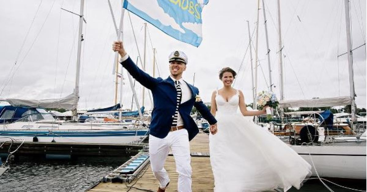Топольницька показала весільні фото @ instagram.com/juliatopolnitskaya