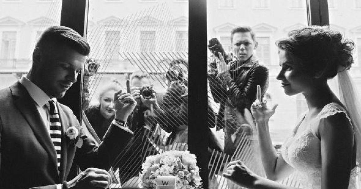 Топольницька показала весільні фото @ instagram.com/flea_view