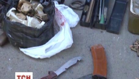 Склад зброї виявили в Одесі у приватному помешканні