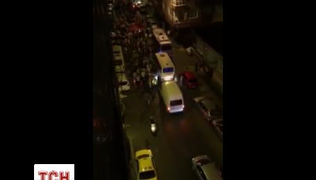 Сторонники Эрдогана вышли на улицы Стамбула. Эксклюзивное видео ТСН