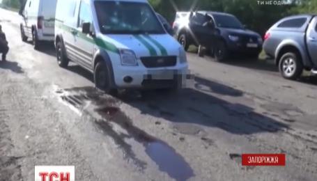 Напад на інкасаторів у Запоріжжі здійснили бійці добровольчого батальйону