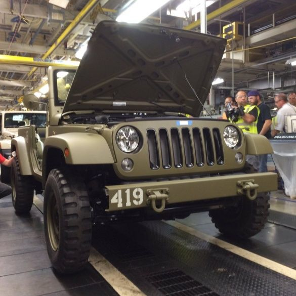 Jeep Wrangler Willys MB