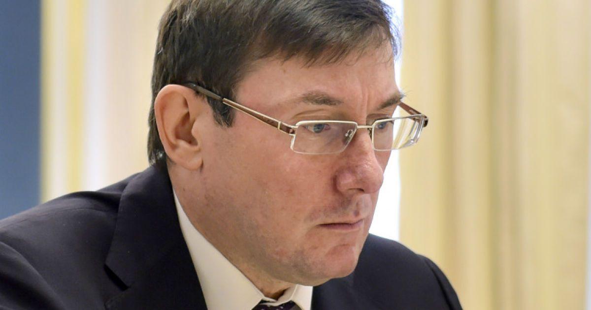 """Луценко не виключає, що на мерів Ірпеня і Бучі тиснули """"друзі"""" Януковича"""