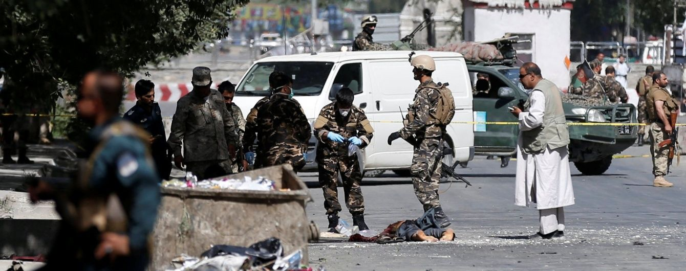 У Кабулі стався сильний вибух