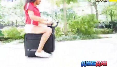 Международный обзор: что такое электрочемодан и можно ли поставить на Matiz гигантские колеса