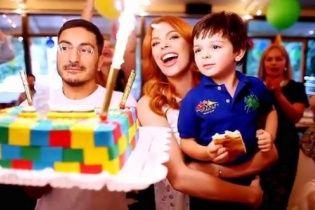 Стоцька разом із чоловіком яскраво відсвяткувала день народження сина