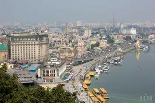 В Киеве затопило место раскопок памятников на Почтовой площади