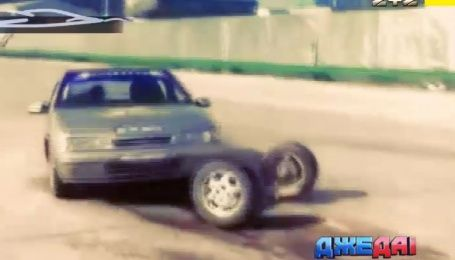 Столкновение поезда и тягача, ребенок под колесами и феерический поворот - подборка аварий