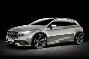 """Новый Mercedes A-Class получит """"заряженную"""" версию"""