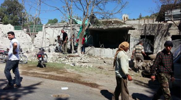 У Сирії авіаудар влучив в пологовий будинок, є загиблі_4
