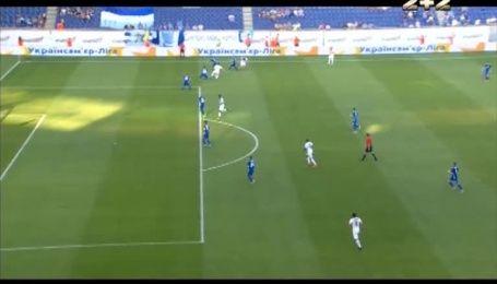 Дніпро - Сталь - 1:1. Відео голу Комваліуса