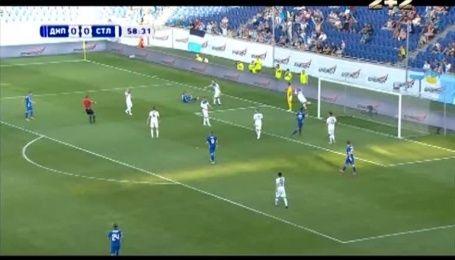 Дніпро - Сталь - 1:0. Відео голу Блізніченка з пенальті
