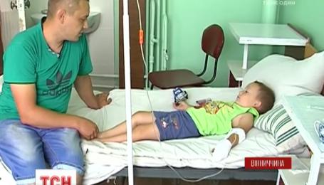 На Вінниччині батько із 4-річним сином дивом вижили після потужного удару струмом