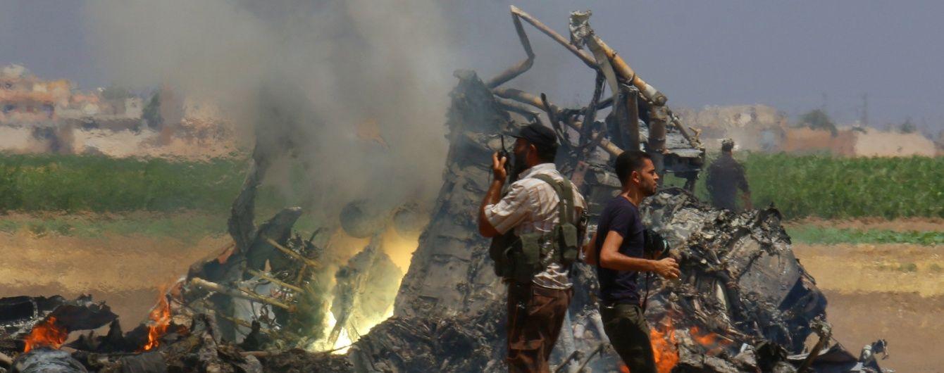 Винищувачі та вертольоти. Скільки техніки РФ втратила під час війни у Сирії