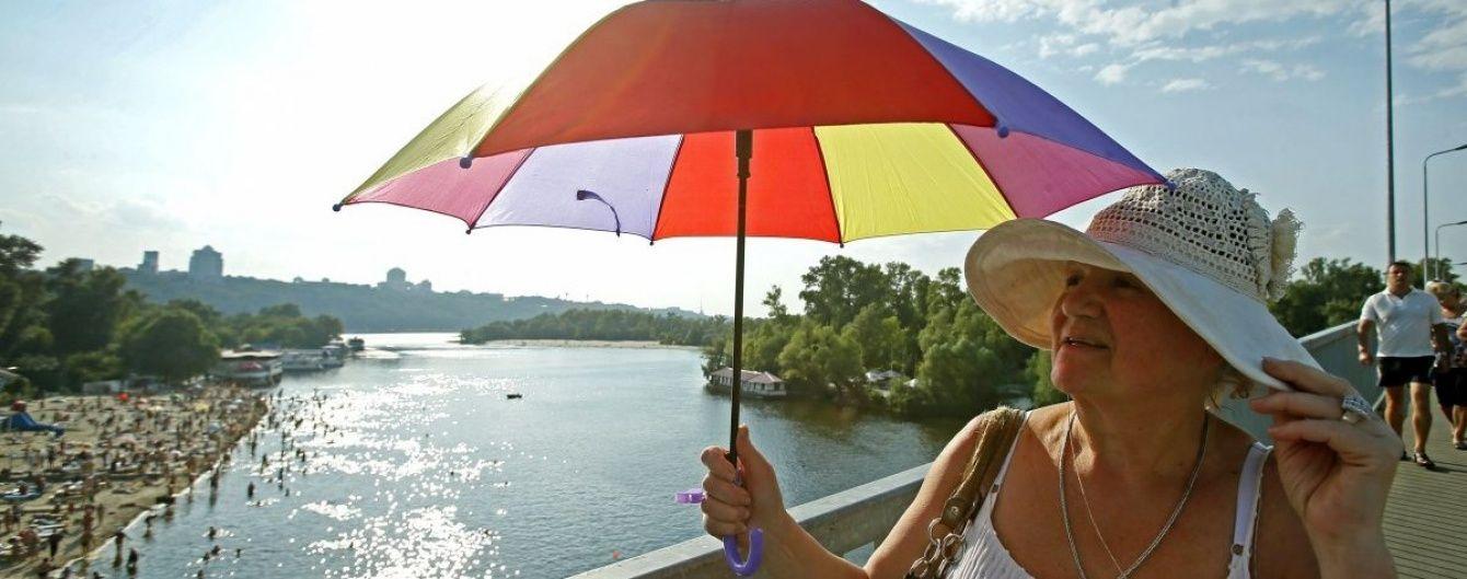 Вівторок принесе українцям дощі, грози, шквали та 36-градусну спеку
