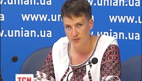 Савченко снова голодает и предлагает Украине первой отдать пленных сепаратистов