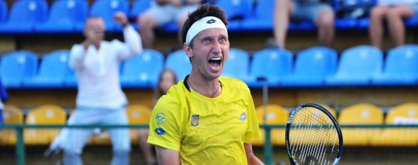 Тенісист Стаховський пожертвував гроші українським воїнам