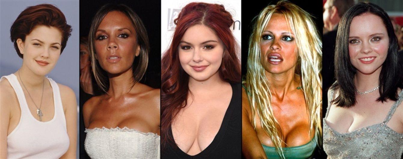 До и после: звезды, уменьшившие грудь
