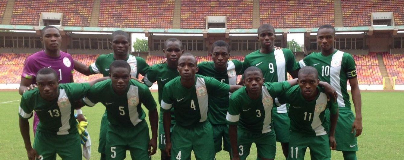 26 гравців юніорської збірної Нігерії провалили тест на вік