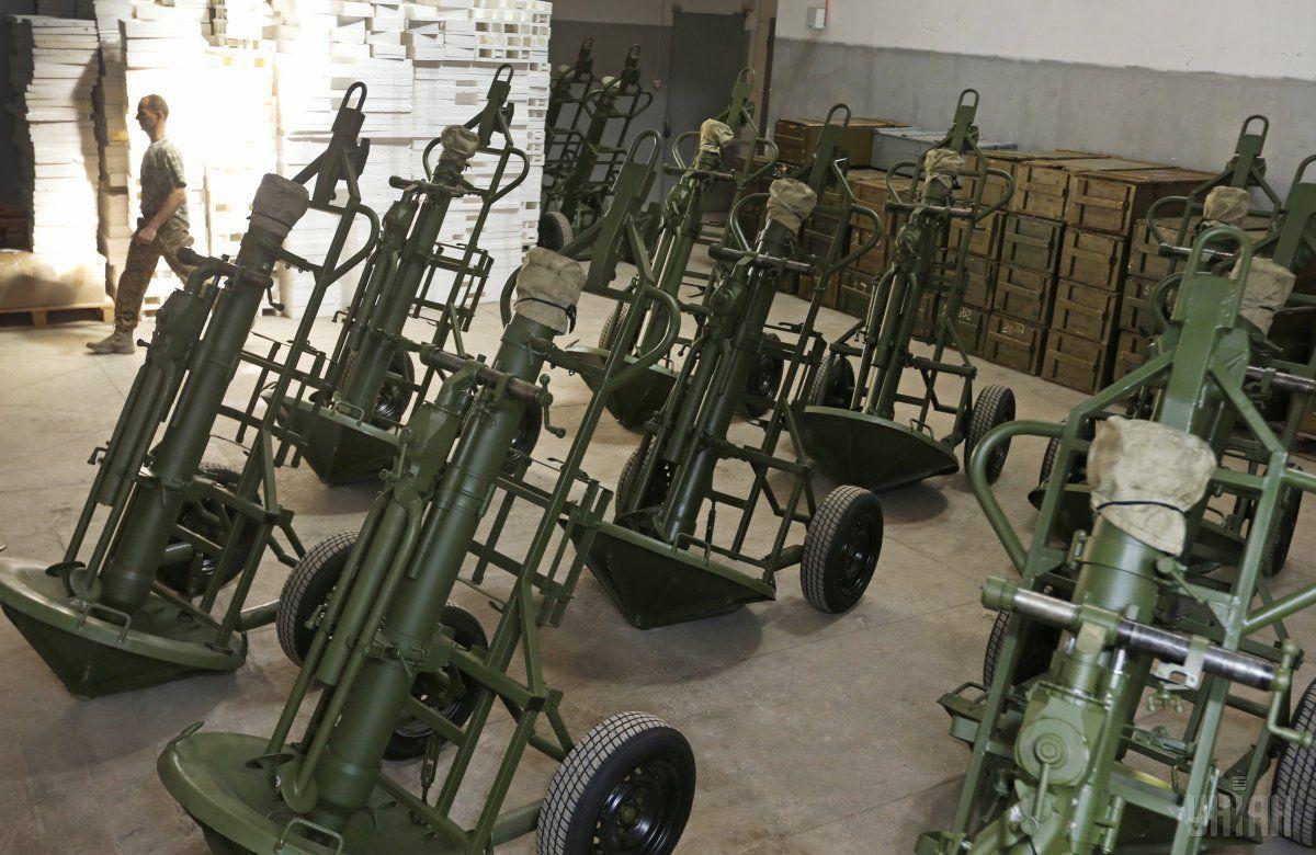 Маяк міномет 60мм зброя_10