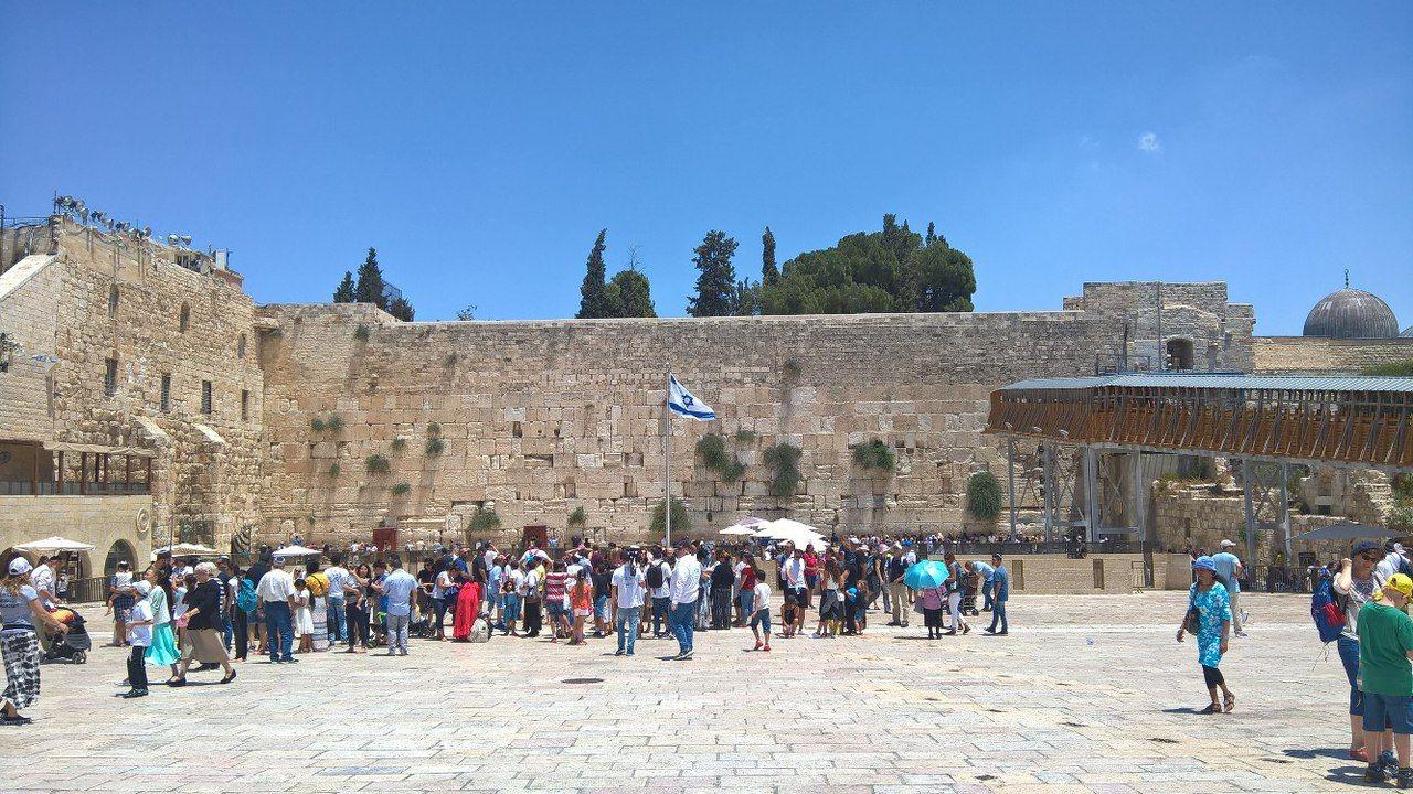 Єрусалим, стіна плачу