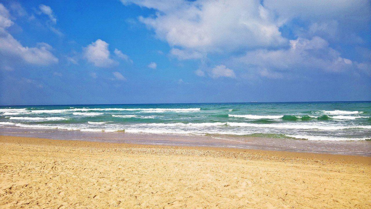 пляж, місто Хайфа