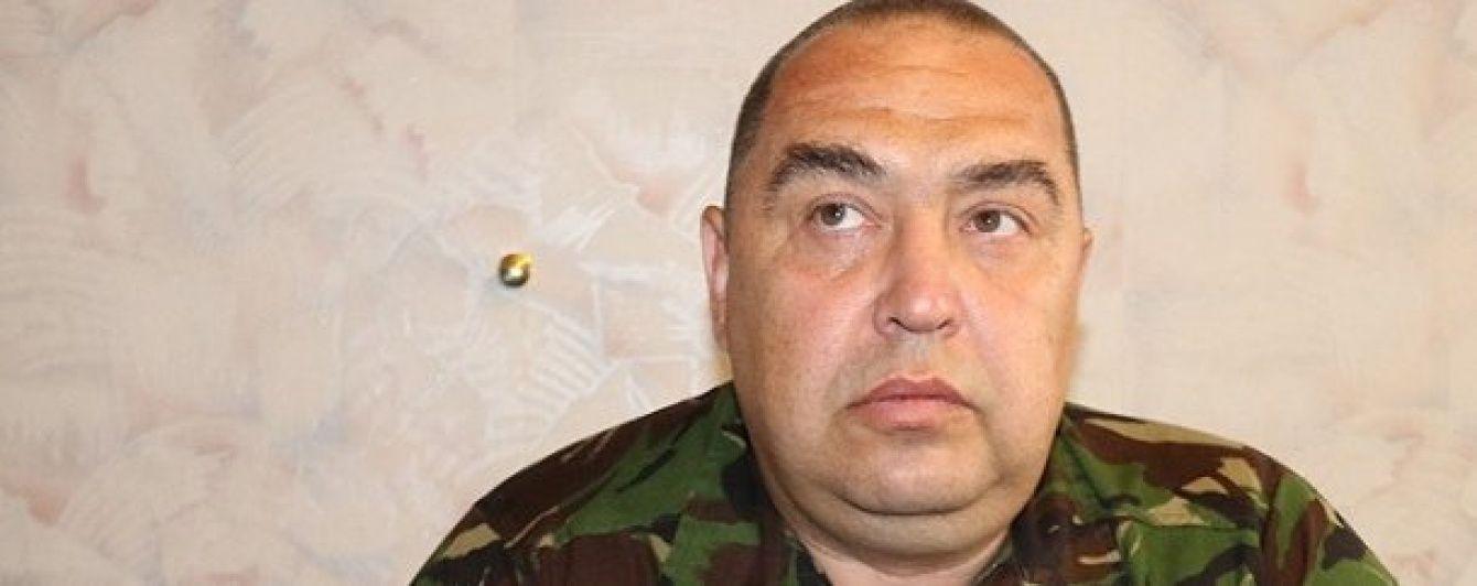 Плотницький досі перебуває в лікарні Луганська - ЗМІ