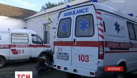 На Запорожье произошел несанкционированный подрыв гранаты во время учений, есть пострадавшие