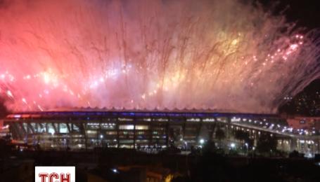 Фейерверки Олимпиады-2016