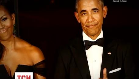 На 55-летие Барака Обамы его жена устроила закрытую вечеринку
