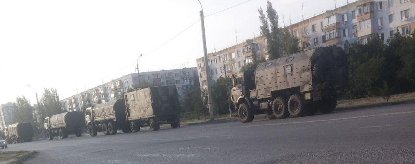 В Украину с территории России въехала колонна техники - ОБСЕ