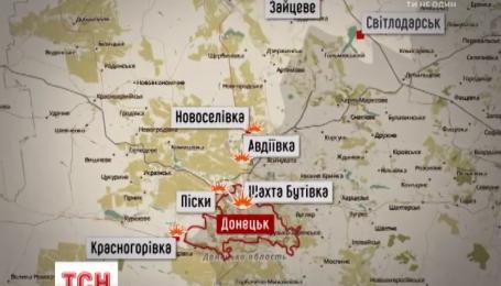 Боевики обстреляли позиции у населенного пункта Крымское, есть погибшие