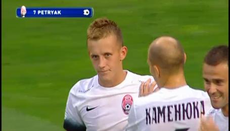 Зоря - Чорноморець - 2:0 . Відео голу Петряка