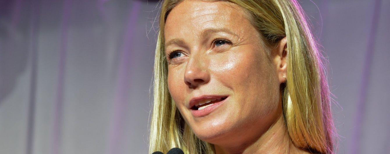 В платье Prada и без макияжа: Гвинет Пэлтроу на светском мероприятии
