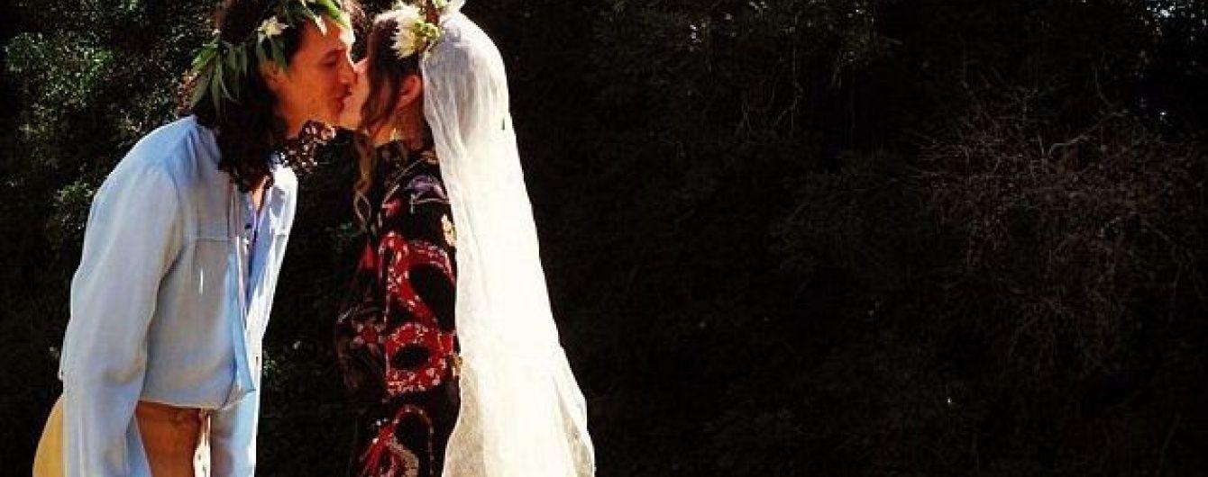 """Під вінець голяка: Син учасника """"Pink Floyd"""" одружився в чому мати народила"""