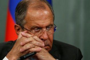 """Лавров вимушено покинув міжнародний форум через """"напружену ситуацію у зовнішній політиці РФ"""""""