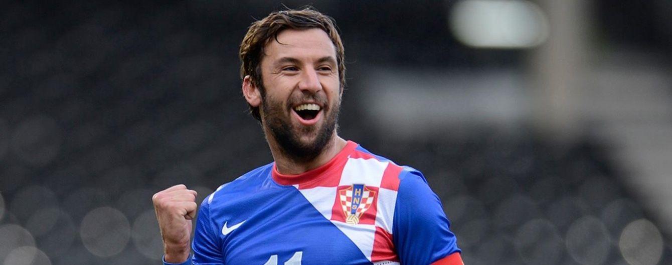 """Капітан """"Шахтаря"""" Срна оголосив про завершення кар'єри в збірній Хорватії"""