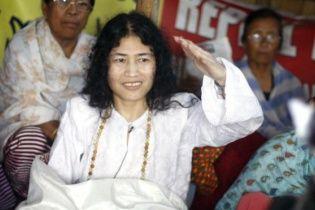 В Індії активістка припиняє голодування, яке тривало 16 років