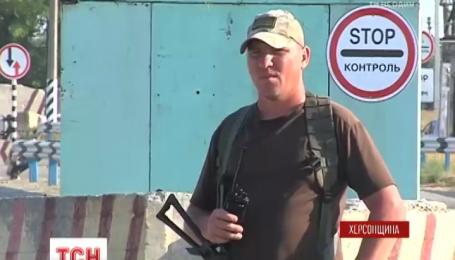 На Крымском КПВВ в очереди стоит около пятисот машин