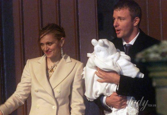 свадьба Мадонны
