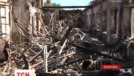 Спасатели назвали причину пожара в Винницкой области, который оставил без крыши 28 семей