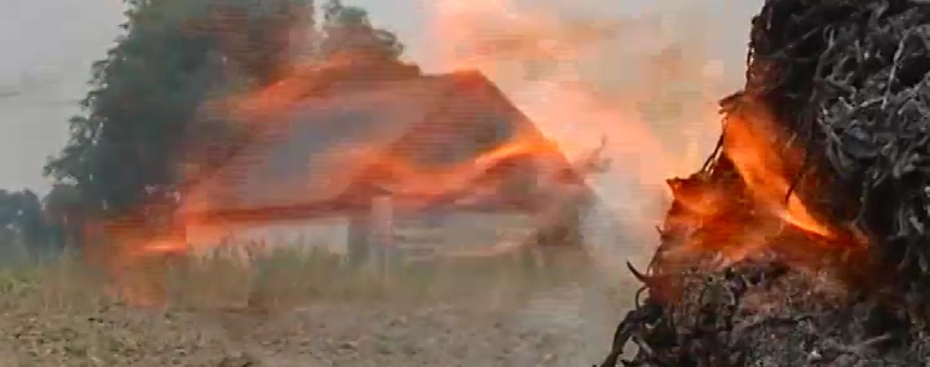Житомирщина потерпає від польових пожеж